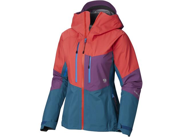 Mountain Hardwear Exposure/2 Gore-Tex Pro Jacket Women fiery red